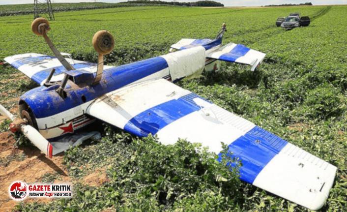 Almanya'da küçük uçak düştü: 3 ölü