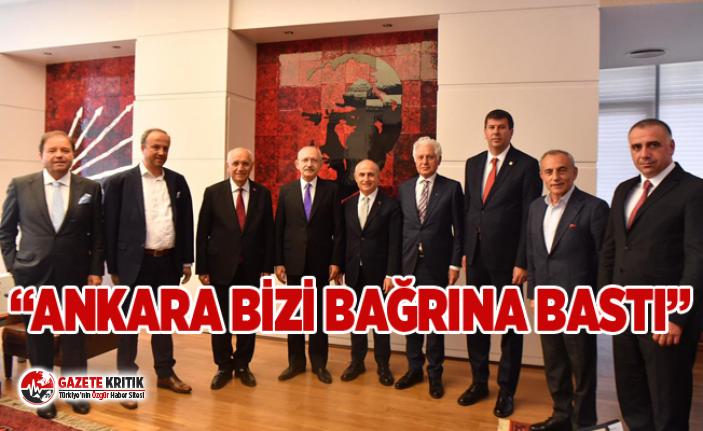 """""""ANKARA BİZİ BAĞRINA BASTI"""""""