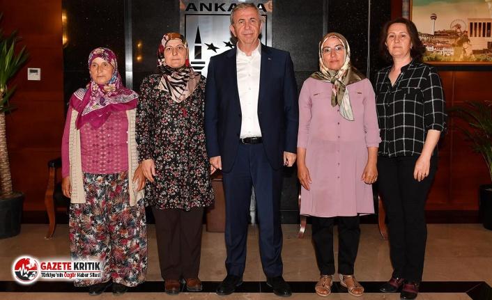 Ankara Büyükşehir Belediyesi'nden kadınlar...
