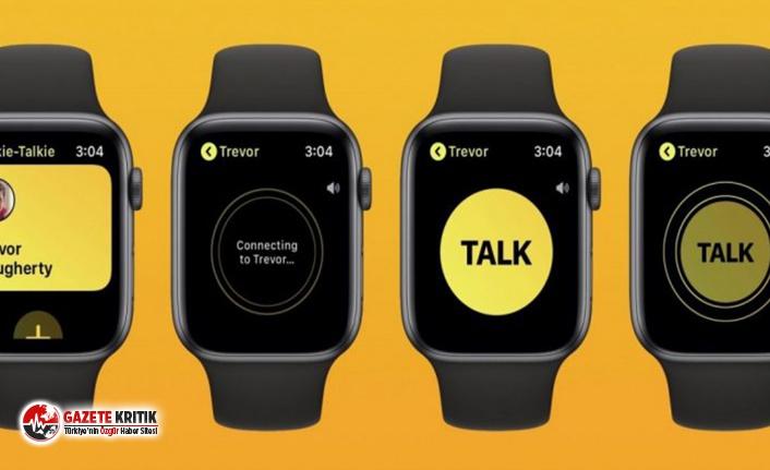 Apple Watch için geliştirilen Walkie-Talkie uygulaması kapatıldı