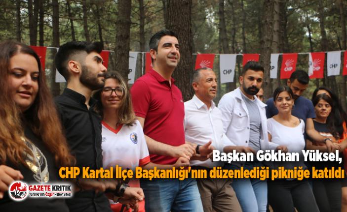 Başkan Gökhan Yüksel, CHP Kartal İlçe Başkanlığı'nın düzenlediği pikniğe katıldı
