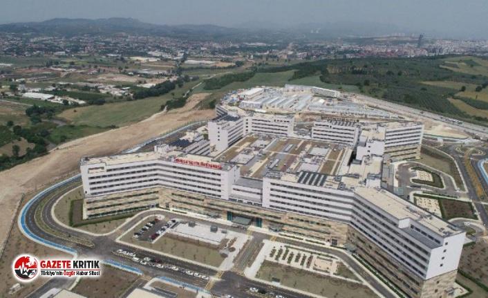 Bursa Şehir Hastanesi açıldı: Çevrede eczane...