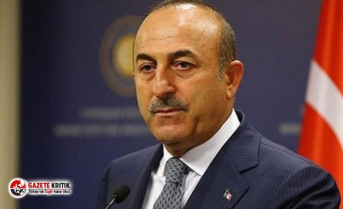 Çavuşoğlu'ndan AB yaptırımlarına ilişkin açıklama: Ciddiye almaya gerek yok, basit şeyler