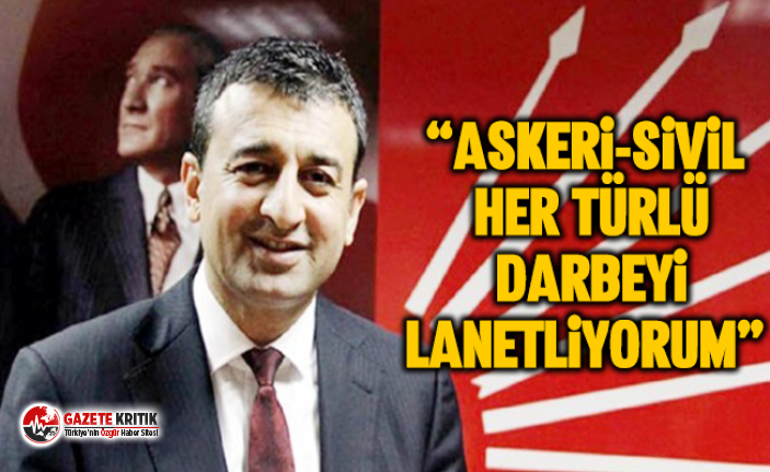 CHP Adana Milletvekili Burhanettin Bulut'un 15 Temmuz...