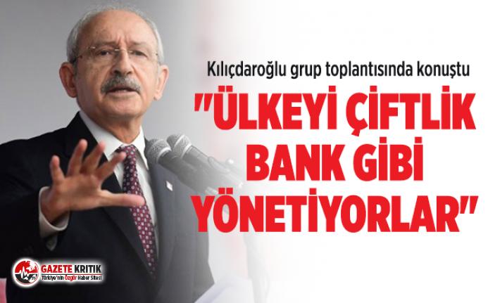 CHP Genel Başkanı Kemal Kılıçdaroğlu grup toplantısında...