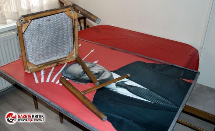 CHP ilçe binasına saldıran sanığa 4 yıl hapis...