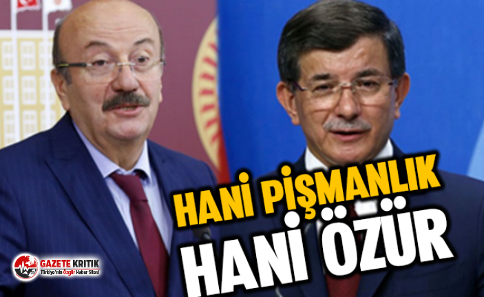 CHP'li Bekaroğlu Davutoğlu'na böyle sordu: Hani pişmanlık, nerede özür?