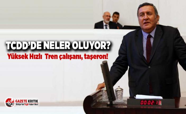 CHP'li Gürer: Yüksek Hızlı Tren çalışanı,...