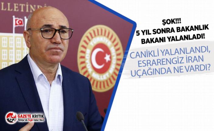 CHP'Lİ MAHMUT TANAL:CANİKLİ YALANLANDI, ESRARENGİZ...