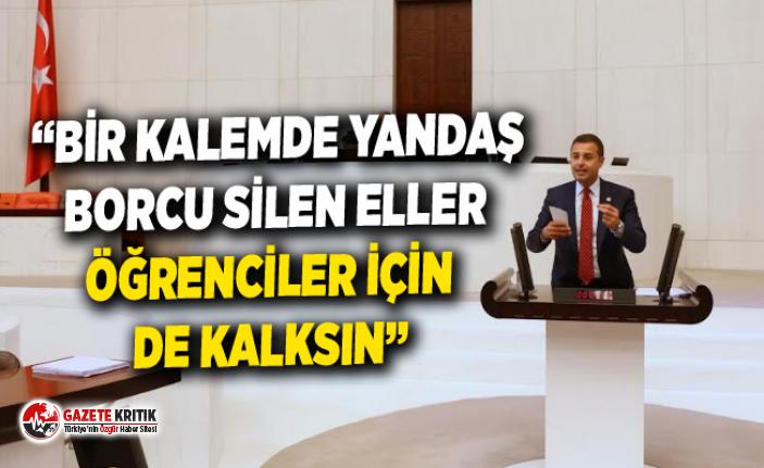 CHP'Lİ AKIN'IN 25 MİLYON ÖĞRENCİYİ İLGİLENDİREN...