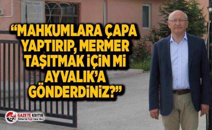 CHP'li ÇakırözerÇifteler'denAyvalık'a nakledilen kadın mahkumların durumunu Meclis'e taşıdı