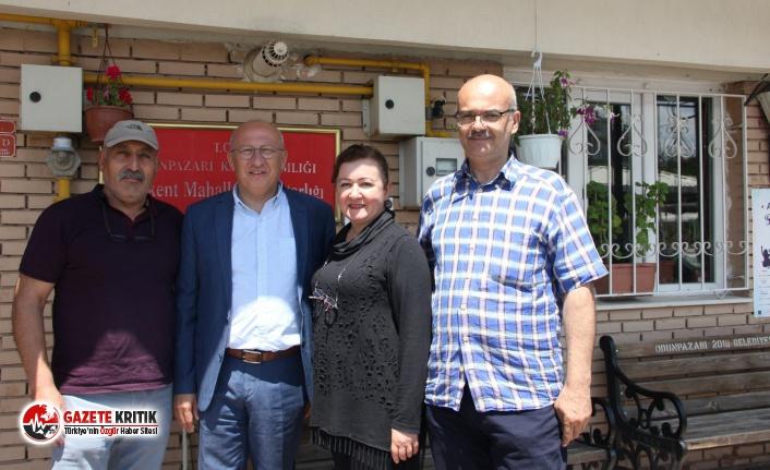 CHP'li Çakırözer'den Yenikent'e ziyaret