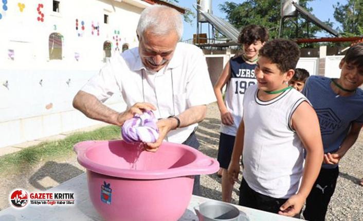 Dezavantajlı çocukların kullandığı Diyarbakır...