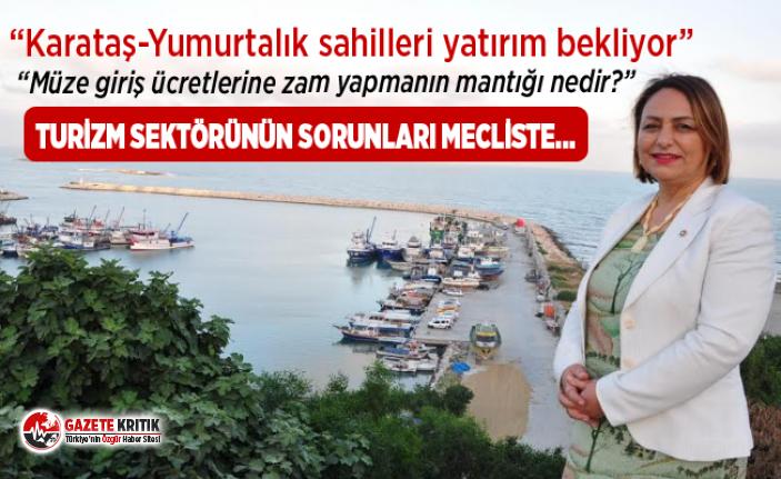 """Dr. Müzeyyen Şevkin,""""Karataş-KKTC feribot seferlerine..."""