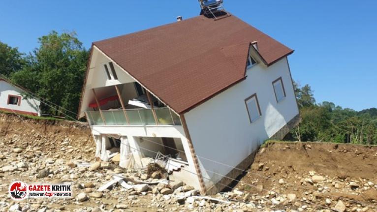 Düzce'deki sel felaketinden kötü haber: Bir kişinin cesedi bulundu