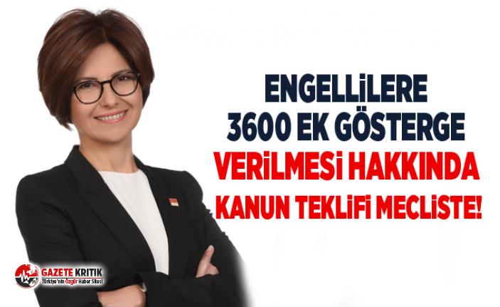 """""""Engellilere 3600 Ek Gösterge Verilmesi Hakkında Kanun Teklifi Mecliste!"""""""