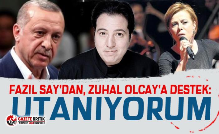 Fazıl Say'dan, Zuhal Olcay'a destek: Utanıyorum