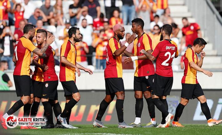 Galatasaray, hazırlık maçında RB Leipzig'e...