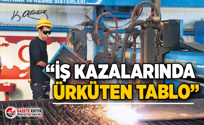 """""""İŞ KAZALARINDA ÜRKÜTEN TABLO"""""""