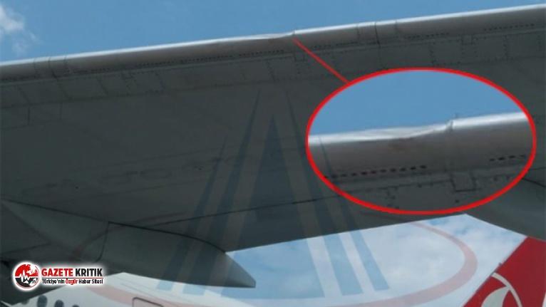 İstanbul'da iniş yapan yolcu uçağı kuş...