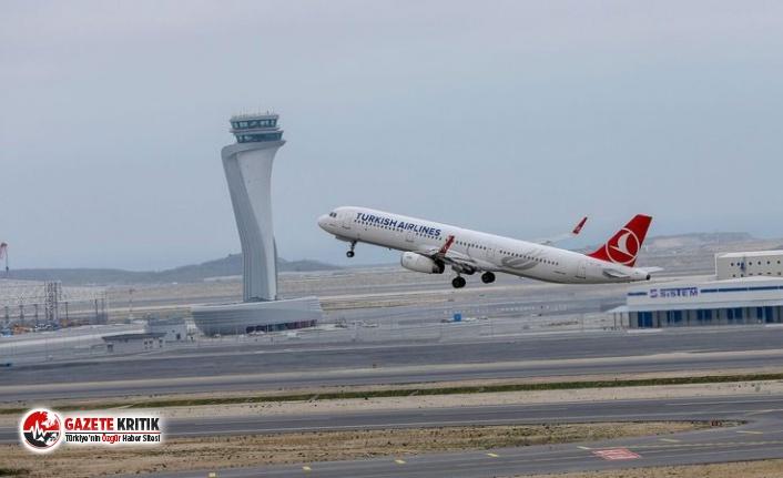 İstanbul Havalimanı'na inen uçak kuş sürüsüne...