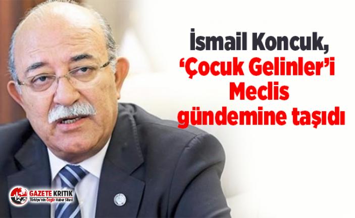 İYİ Parti Adana Milletvekili İsmail Koncuk, 'Çocuk...