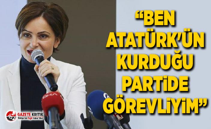 Kaftancıoğlu: Ben Türkiye Cumhuriyeti'ni aşağılamam, çünkü ben Atatürk'ün kurduğu partide görevliyim