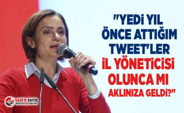 Kaftancıoğlu: Figen Yüksekdağ'ın gözaltına...
