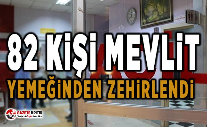 Kastamonu'da 82 kişi mevlit yemeğinden zehirlendi