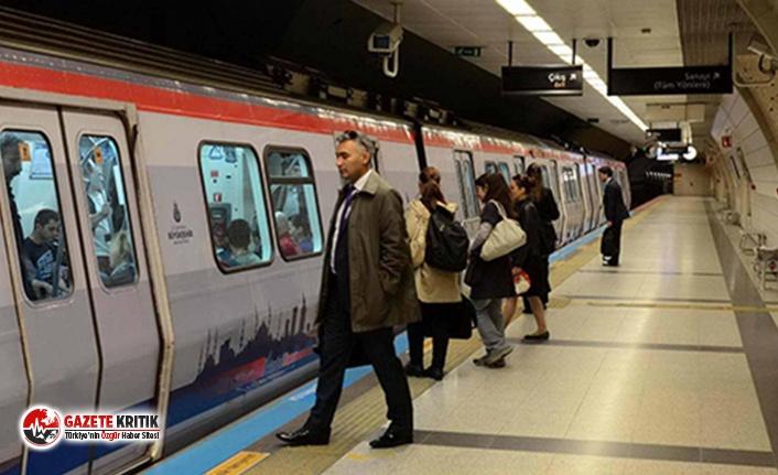 Öksürmeye başlayan Prof. Kadıoğlu metroda ölçüm yaptı: İstasyonlar 3 kat daha kirli, maske ile binin!