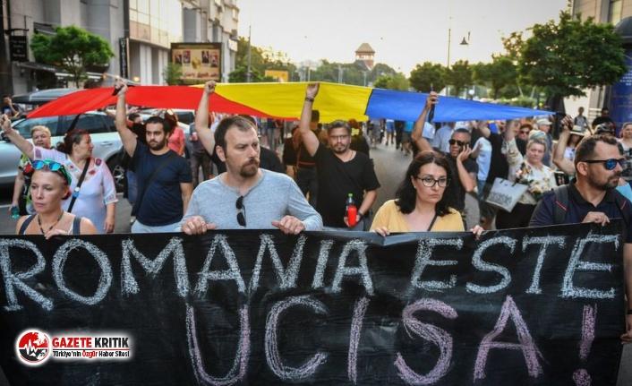 Romanya'da kız çocuğunun kaçırılıp öldürülmesi...