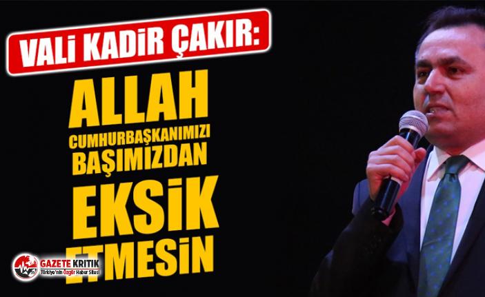 Sanki Cumhuriyet'in değil AKP'nin valisi! Yozgat Valisine tepki yağıyor
