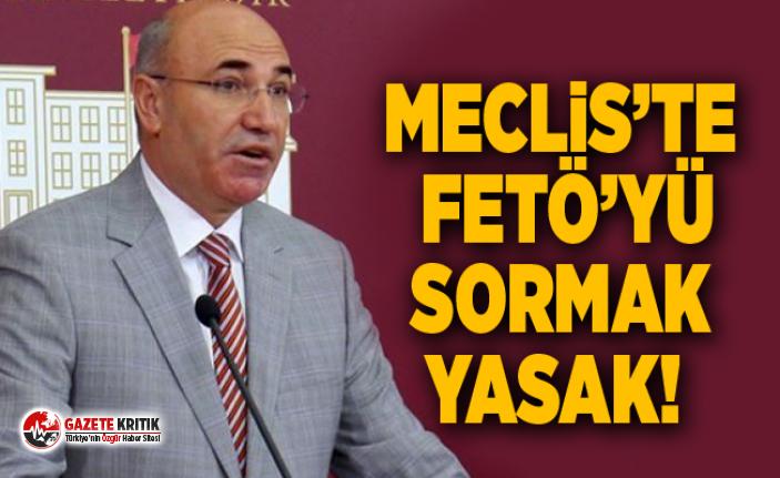 ŞENTOP'U RAHATSIZ EDEN FETÖ SORU ÖNERGESİ