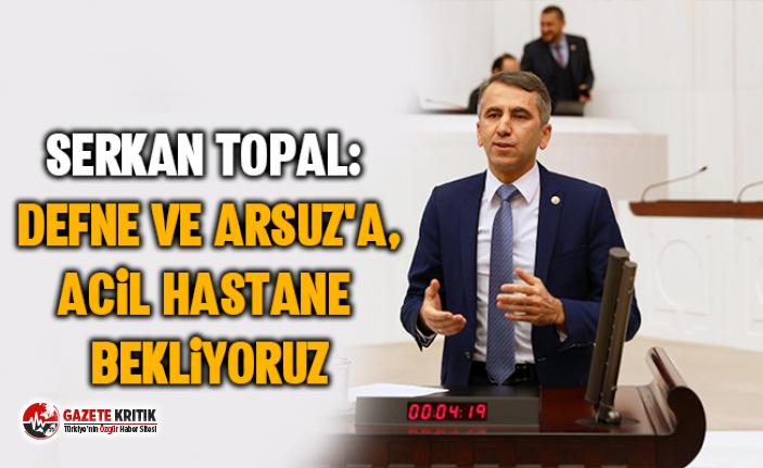 Serkan Topal: Defne ve Arsuz'a, acil hastane...