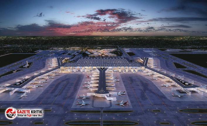 Sözcü yazarı Bekir Coşkun İstanbul Havalimanı...