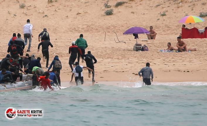 Tatile gittiği sahile, göçmen cesetlerinin vurmasından...