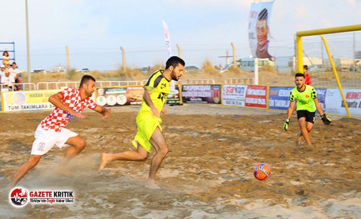 TFF Plaj Futbol Ligi Manavgat Etabı başladı