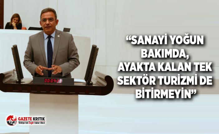 """""""TURİZMİN KAHRINI ANTALYA ÇEKİYOR, ANTALYA'YA..."""