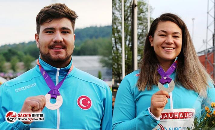 Türkiye, Avrupa U20 Atletizm Şampiyonası'nda günü 2 madalya ile tamamladı