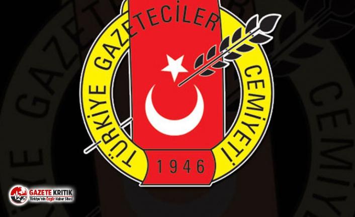 Türkiye Gazeteciler Cemiyeti: Gazetecilerin cezaevinde olmadığı bir Türkiye istiyoruz