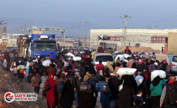 Türkiye'ye göç edenlerin sayısı yüzde 23,8...