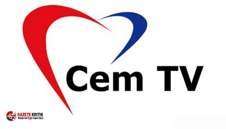 Türksat'ın yayınını durduğu Cem TV'den...