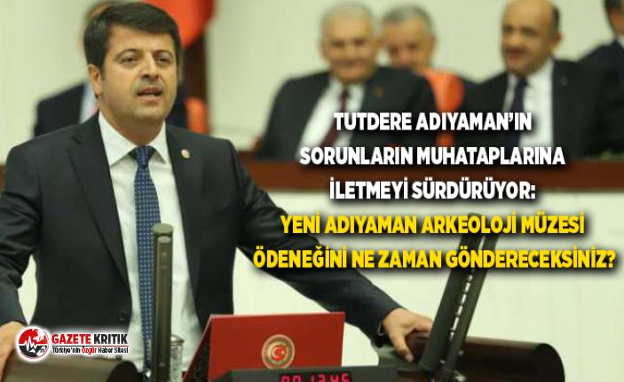 TUTDERE ADIYAMAN'IN SORUNLARIN MUHATAPLARINA İLETMEYİ...
