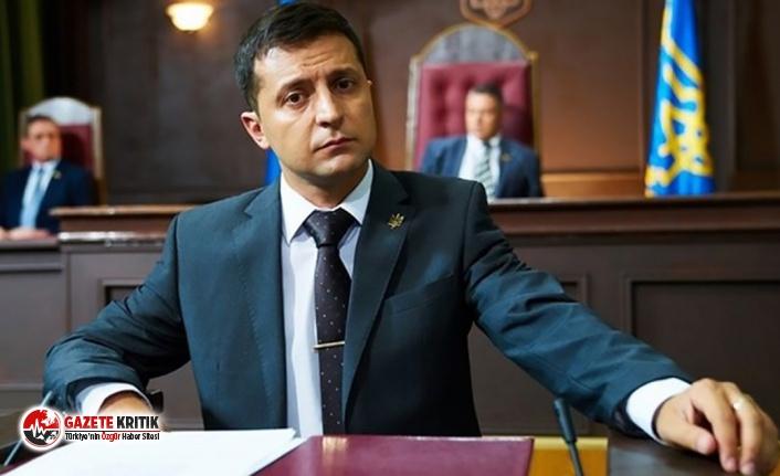 Ukrayna Devlet Başkanı Zelenskiy görevdeki ilk...