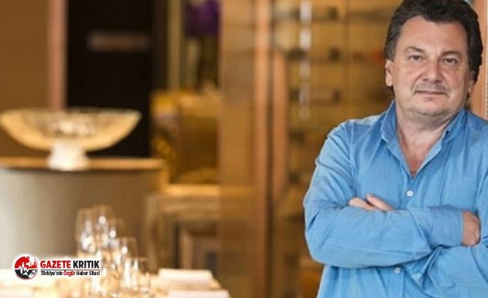 Vedat Milor: Fazla masa nedeniyle ikaz ettiğim restoranın...