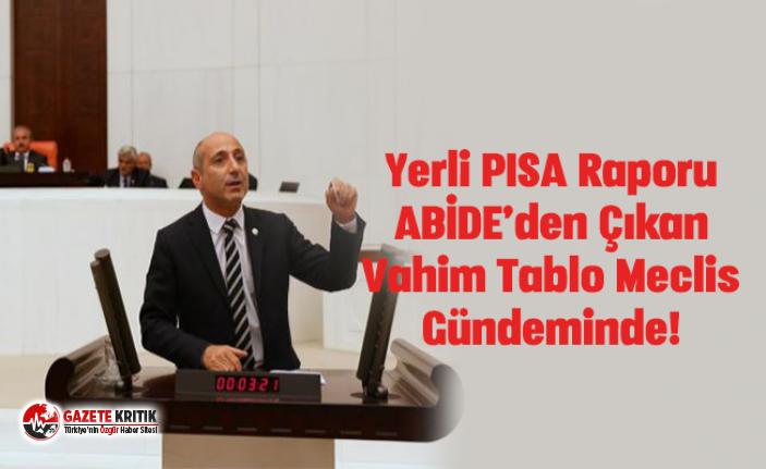 Yerli PISA Raporu ABİDE'den Çıkan Vahim Tablo...