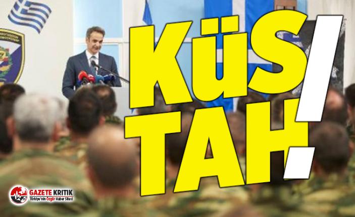 Yunanistan Başbakanı'ndan küstah Türkiye...