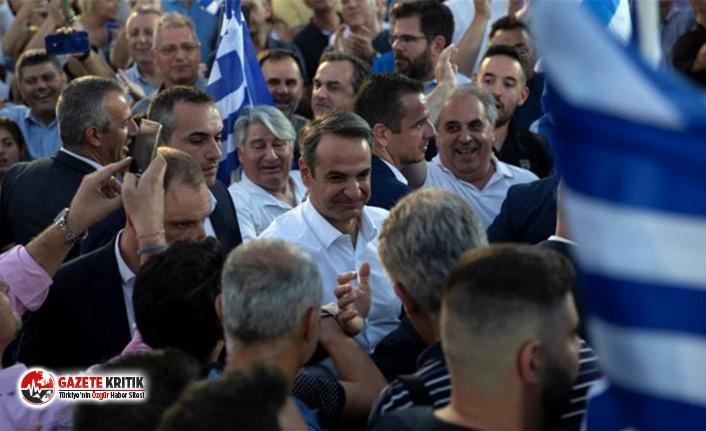Yunanistan'ın yeni başbakanı Miçotakis'ten...