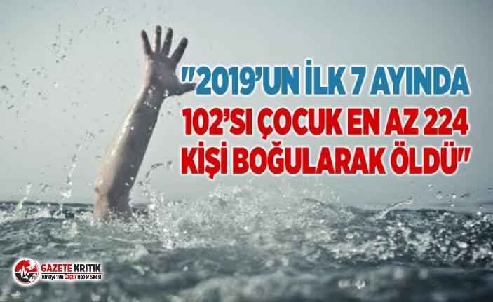 """""""2019'UN İLK 7 AYINDA 102'si ÇOCUK EN AZ..."""