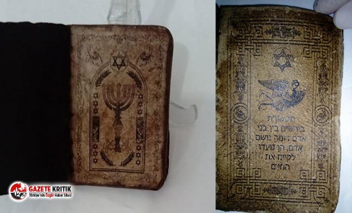 5 milyon dolar değerinde İbranice kitap ele geçirildi